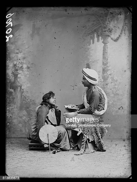 Major Musa Bhai of the Salvation Army with an unidentified colleague 3rd November 1890 Born in Ceylon it is believed that Musa Bhai may have been...