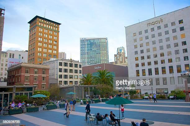 Major plaza in San Francisco