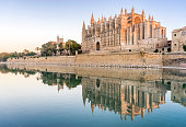 Majorca cathedral in Balearic Islands