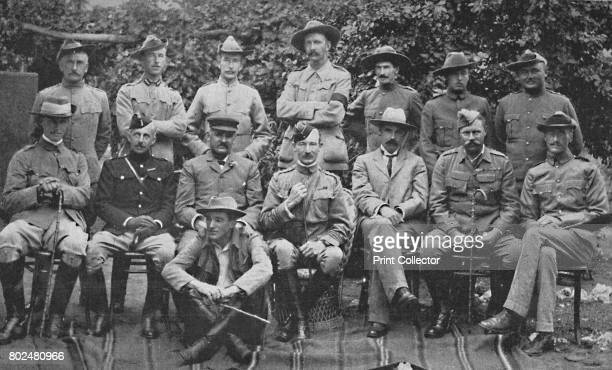 MajorGeneral BadenPowell and the Principal Men Who Helped Him to Defend Mafeking' 1900 Under the command of Colonel Robert BadenPowell Mafeking held...