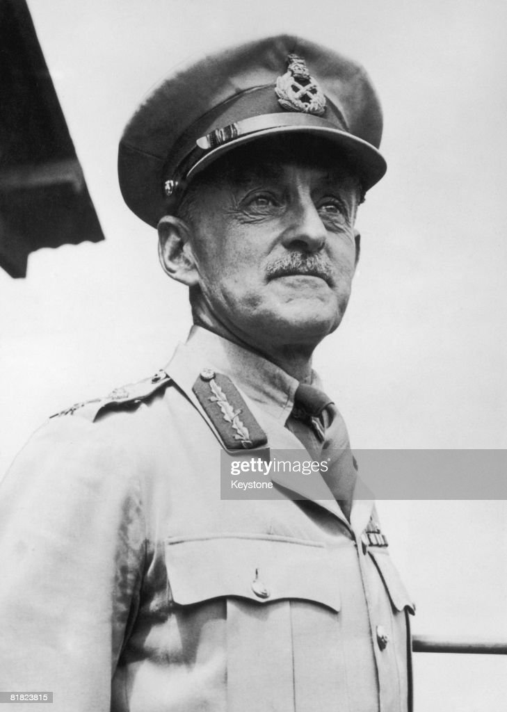 Major-General Sir William Robert Norris Hinde (1900 - 1981), the newly-appointed Director of Operations against the Mau Mau Rebellion in Kenya, 24th April 1953.