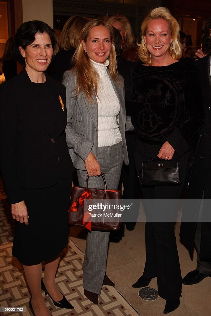 Majorie Van Dercook Valesca GuerrandHermes and Nina Griscom attend A kickoff for 'An Enchanted Evening' a Gala for the School of American Ballet at...