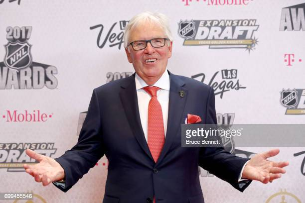 Majority owner Bill Foley of the Vegas Golden Knights attends the 2017 NHL Awards at TMobile Arena on June 21 2017 in Las Vegas Nevada
