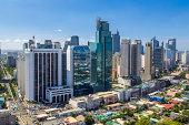Makati city skyline, Manila, Philippines