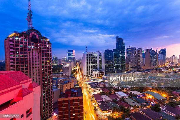 Makati Manila Skyline