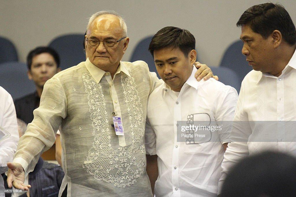 Makati Mayor Jejomar Erwin 'Junjun' Binay Jr is escorted ...