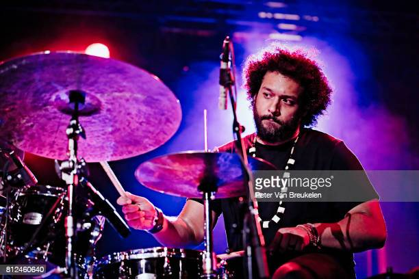 Makaya McCraven Performs at North Sea Jazz Festival on Juli 7th 2017 in Rotterdam The Netherlands