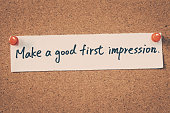 Make a good first impression