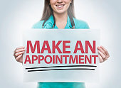 Make an appointment / Healthcare concept (Click for more)