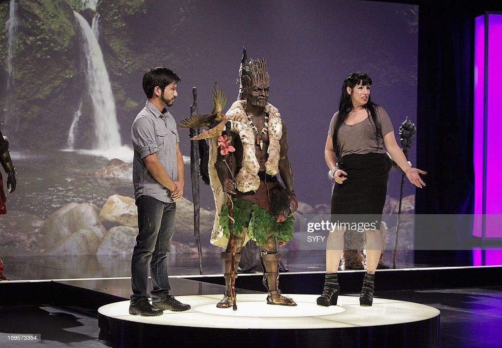 OFF -- 'Make It Reign' Episode 401 -- Pictured: (l-r) Contestants Eric Zapata, Autumn Cook --