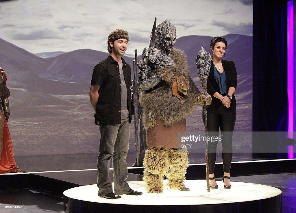 OFF -- 'Make It Reign' Episode 401 -- Pictured: (l-r) Contestants J. Anthony Kosar, Meagan Hester --