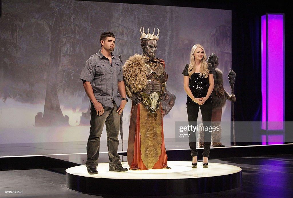 OFF -- 'Make It Reign' Episode 401 -- Pictured: (l-r) Contestants Wayne Anderson, Alex McCoy --