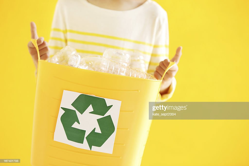 Make recycling routine : Stock Photo