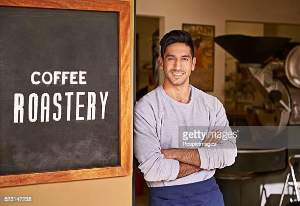 Je faire le meilleur café de la ville !
