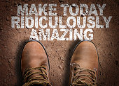 Make Today Ridiculously Amazing steps
