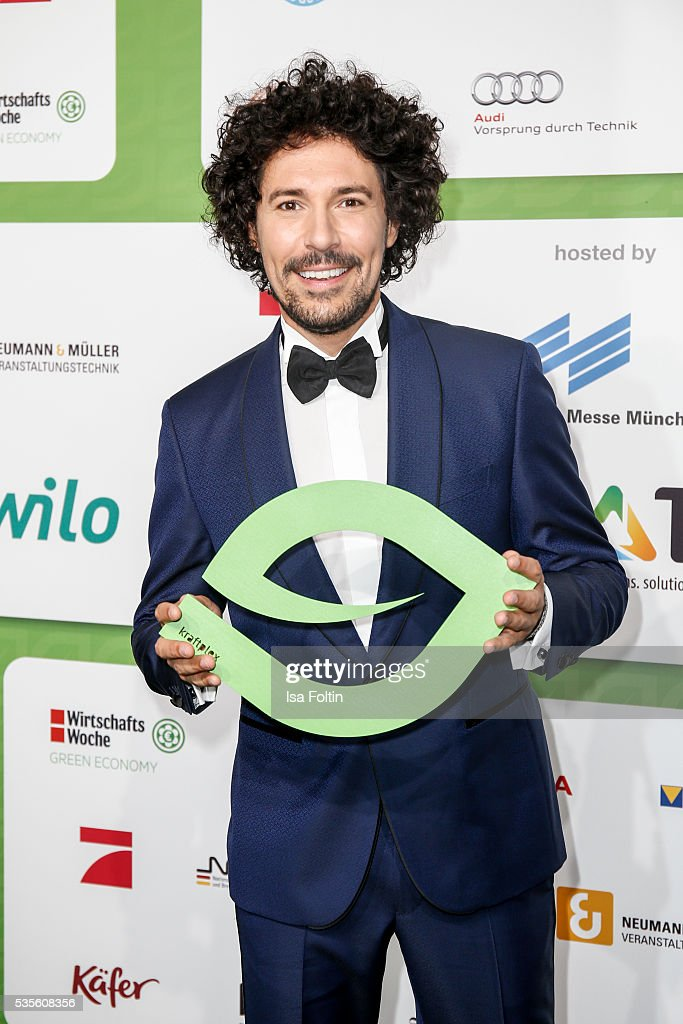 Make up artist <a gi-track='captionPersonalityLinkClicked' href=/galleries/search?phrase=Boris+Entrup&family=editorial&specificpeople=4102117 ng-click='$event.stopPropagation()'>Boris Entrup</a> attends the Green Tec Award at ICM Munich on May 29, 2016 in Munich, Germany.