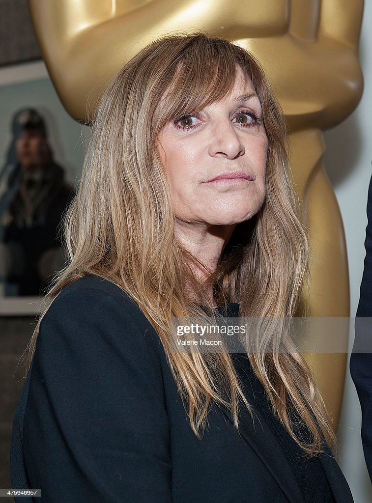 Make up artist Gloria Pasqua-Casny attends the 86th Annual Academy Awards Oscar Week Celebrates Makeup And Hairstyling Oscar-Nominated Films at AMPAS Samuel Goldwyn Theater on March 1, 2014 in Beverly Hills, California.