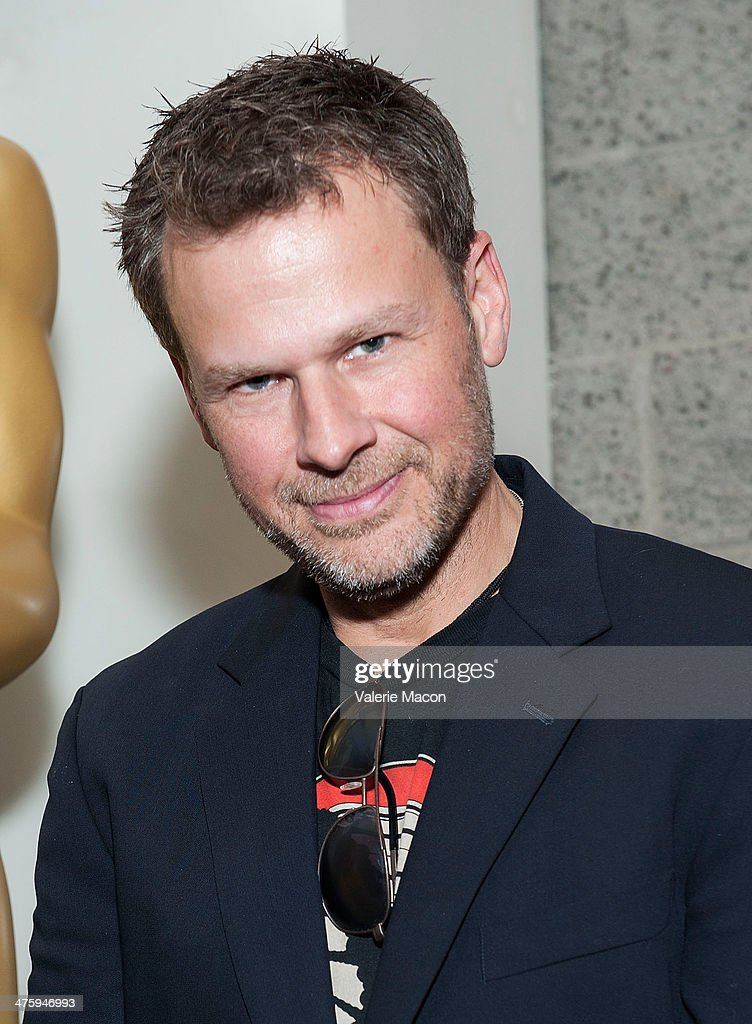 Make up artist Joel Harlow attends the 86th Annual Academy Awards Oscar Week Celebrates Makeup And Hairstyling Oscar-Nominated Films at AMPAS Samuel Goldwyn Theater on March 1, 2014 in Beverly Hills, California.