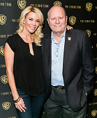 Make up artist Michael Westmore and daughter TV host McKenzie Westmore attend the Warner Bros VIP Tour 2014 'Meet The Family' Speaker Series at...