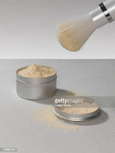 Make up powder.