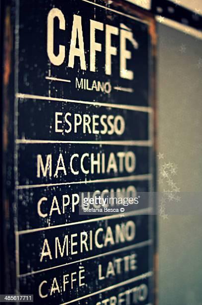Make you choice - caffè