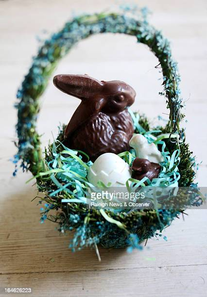 Make your own Easter basket with classic molds and a variety of flavored candy melts