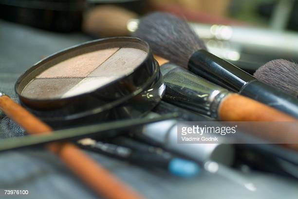 Make-up and make-up brushes