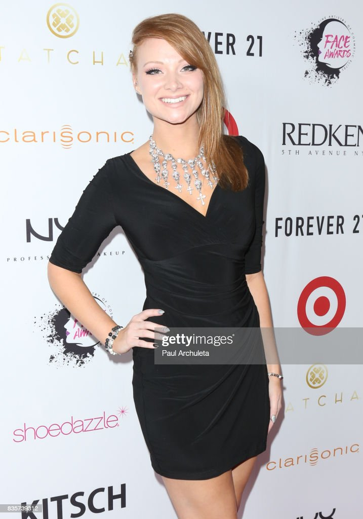 Makeup Artist Alexys Fleming attends the NYX Professional Makeup's 6th Annual FACE Awards at The Shrine Auditorium on August 19, 2017 in Los Angeles, California.