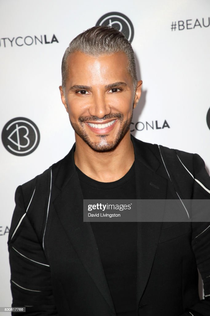 Makeup artist and TV personality Jay Manuel attends Day 1 of the 5th Annual Beautycon Festival Los Angeles at the Los Angeles Convention Center on August 12, 2017 in Los Angeles, California.