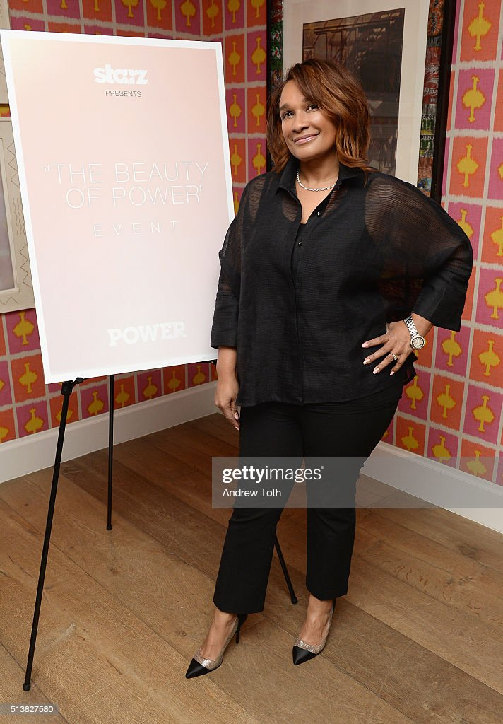 Makeup artist Anita Gibson attends the The Beauty Of Power Event at Crosby Hotel on March 4, 2016 in New York City.