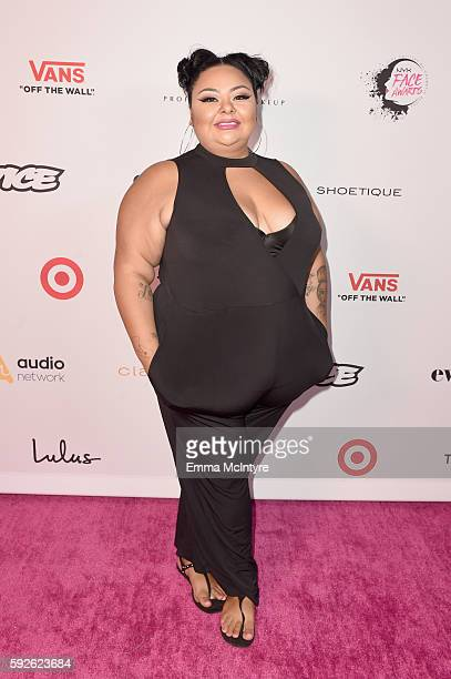 Makeup artist Cassandra Garcia attends the 5th Annual NYX FACE Awards on August 20 2016 in Los Angeles California