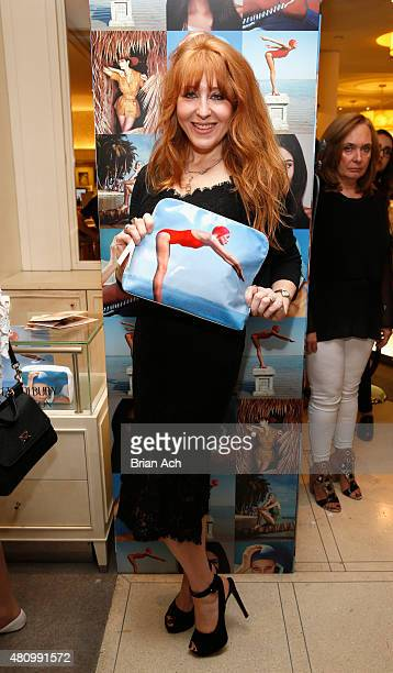 Makeup Artist Charlotte Tilbury attends as Charlotte Tilbury and Bergdorf Goodman celebrate the Limited Edition Charlotte Tilbury x Norman Parkinson...