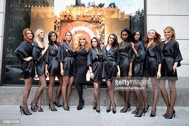 Makeup artist Charlotte Tilbury attends Charlotte Tilbury Arrives In America VIP Beauty Launch event presented by Bergdorf Goodman 5th Avenue on...