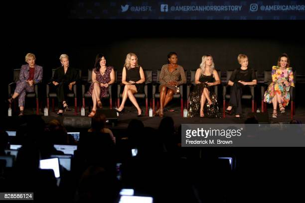 Makeup artist Eryn Krueger Mekash Costume Designer Lou Eyrich Executive Producer Alexis Martin Woodall and actors Leslie Grossman Adina Porter Billie...