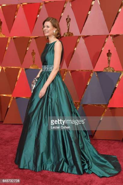Makeup artist Eva von Bahr attends the 89th Annual Academy Awards at Hollywood Highland Center on February 26 2017 in Hollywood California