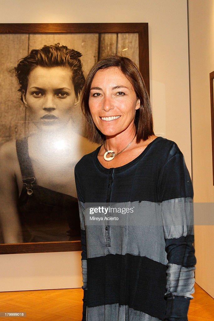 Makeup artist Fulvia Farolfi attends the Peter Lindbergh Artist reception presented by Vladimir Restoin Roitfeldon September 7, 2013 in New York City.