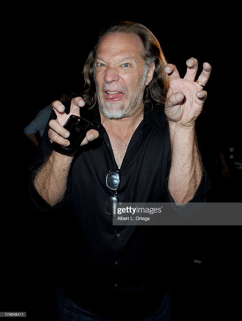 Makeup artist Gregory Nicotero appears at AMC's 'The Walking Dead' panel during Comic-Con International 2013 at San Diego Convention Center on July 19, 2013 in San Diego, California.