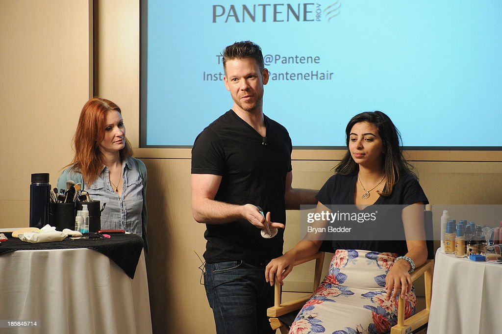 Makeup artist, Jake Bailey speaks at Lucky Magazine's Two-Day East Coast