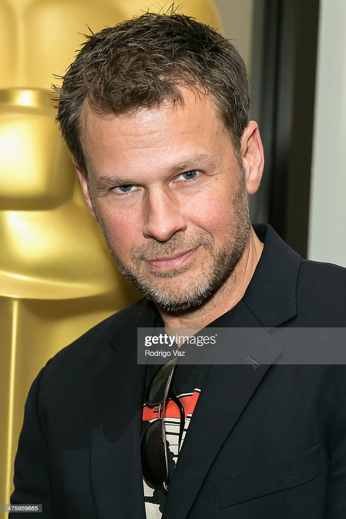 Makeup artist Joel Harlow attends the 86th Annual Academy Awards Oscar Week Celebrates Makeup and Hairstyling at AMPAS Samuel Goldwyn Theater on March 1, 2014 in Beverly Hills, California.