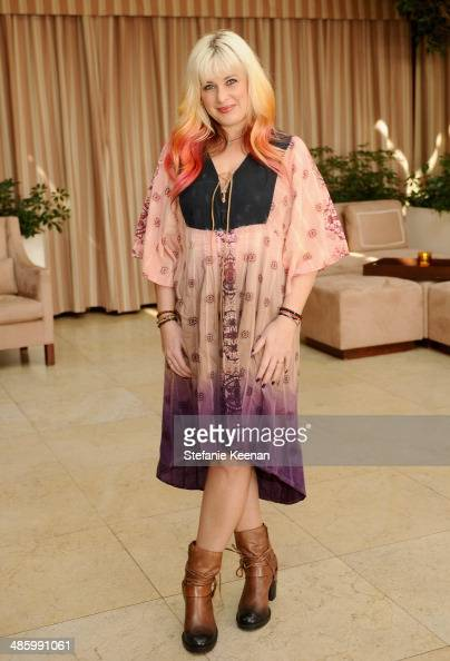 Makeup artist Mary Klimek attends the Dior Beauty Operation Smile Luncheon at Sunset Tower on January 8 2014 in West Hollywood California