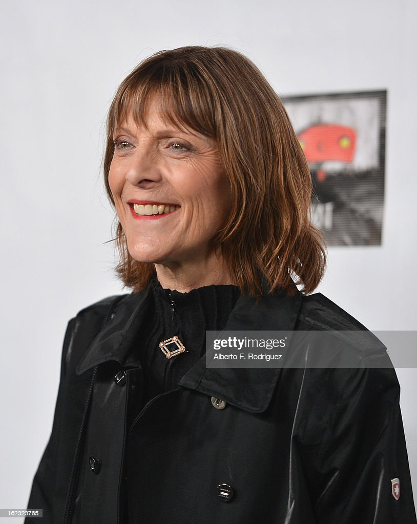 Make-up artist Michele Burke attends the 8th Annual 'Oscar Wilde: Honoring The Irish In Film' Pre-Academy Awards Event at Bad Robot on February 21, 2013 in Santa Monica, California.