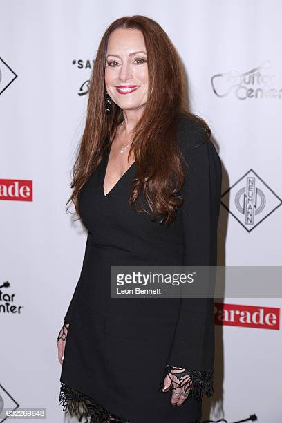 Makeup artist Paula Salvatore arrives at The 5th Annual 'She Rocks Awards' to Honor Women within the Music Industry during The NAMM Show at Hilton...