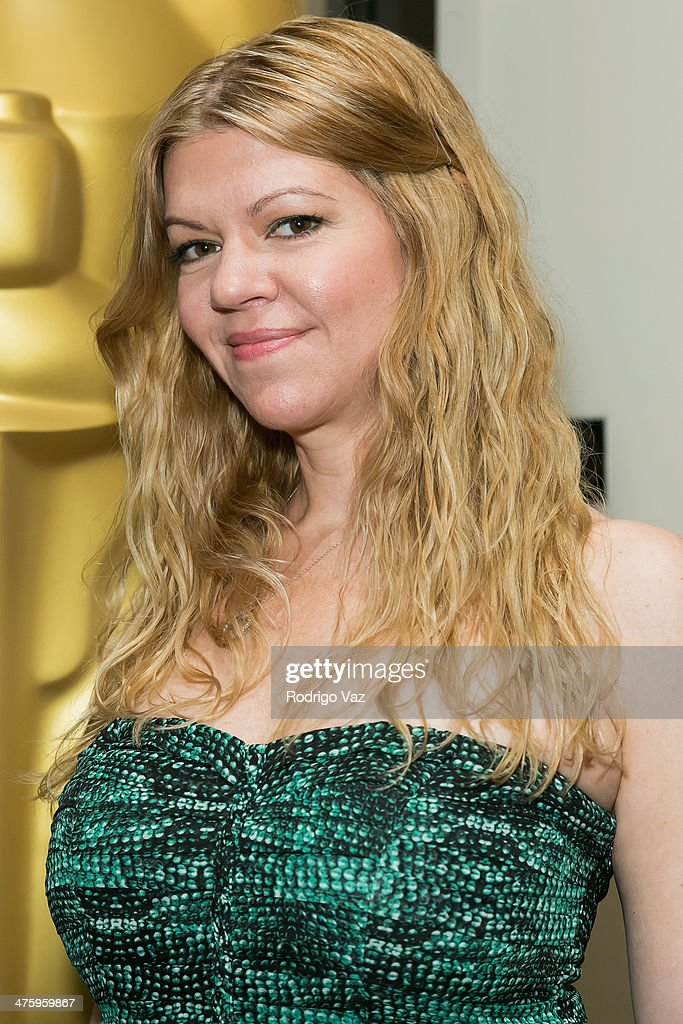 Makeup artist Robin Mathews attends the 86th Annual Academy Awards Oscar Week Celebrates Makeup and Hairstyling at AMPAS Samuel Goldwyn Theater on March 1, 2014 in Beverly Hills, California.