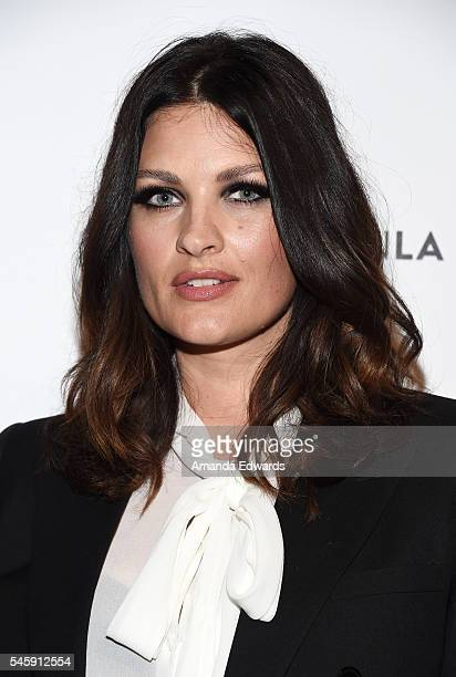 Makeup artist Samantha Chapman of Pixiwoo arrives at the 4th Annual Beautycon Festival Los Angeles at the Los Angeles Convention Center on July 9...