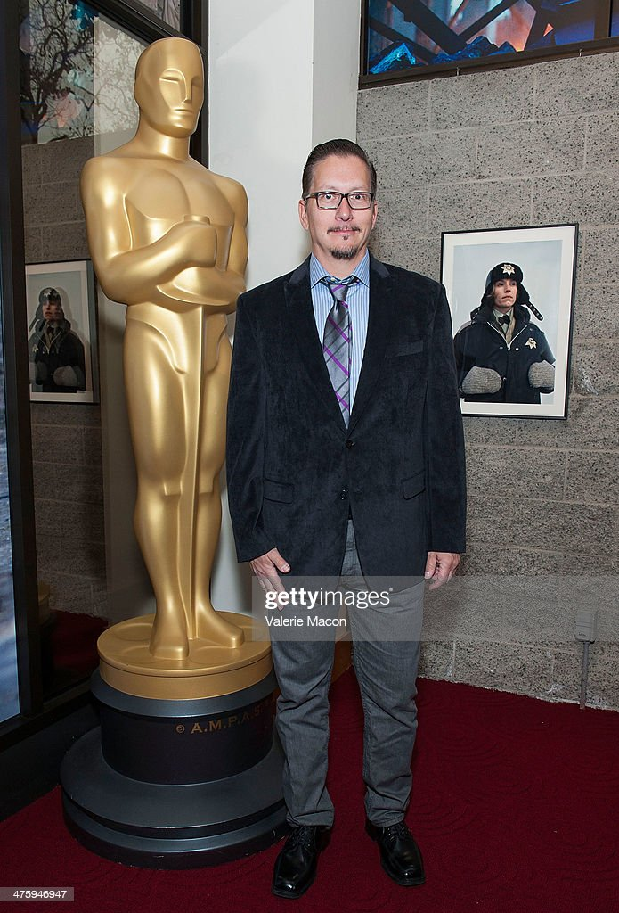 Make-up artist Stephen Prouty attends the 86th Annual Academy Awards Oscar Week Celebrates Makeup And Hairstyling Oscar-Nominated Films at AMPAS Samuel Goldwyn Theater on March 1, 2014 in Beverly Hills, California.
