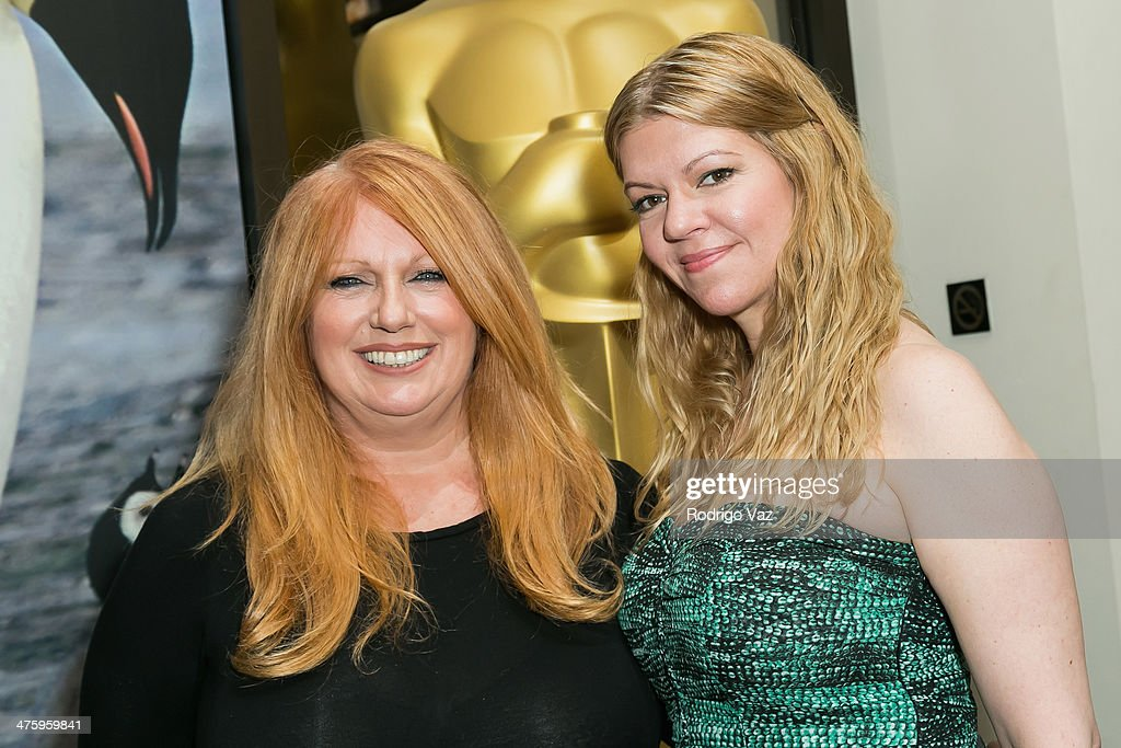 Makeup artists Adruitha Lee (L) and Robin Mathews attend the 86th Annual Academy Awards Oscar Week Celebrates Makeup and Hairstyling at AMPAS Samuel Goldwyn Theater on March 1, 2014 in Beverly Hills, California.