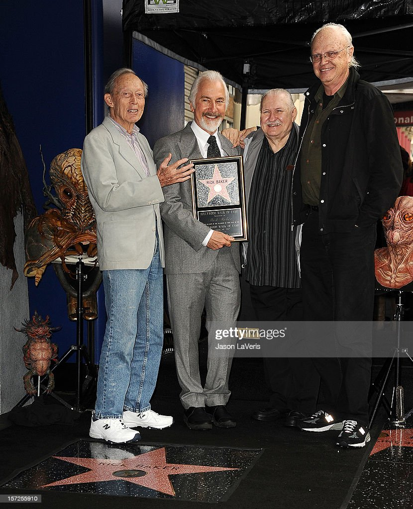 Rick Baker Honored With Star On The Hollywood Walk Of Fame