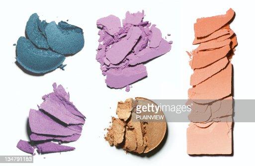 Make-up crushed blush and eyeshadow
