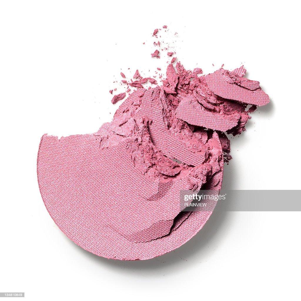 Make-up crushed eyeshadow