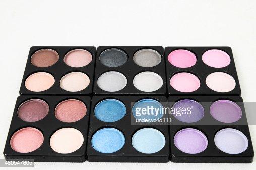 Maquillaje eyeshadows : Foto de stock